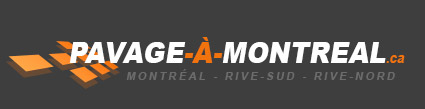 Pavage à Montréal : commerce pavage asphalte de Montréal