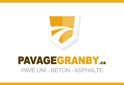 Pavage à Granby pour asphalte – pavé uni et béton